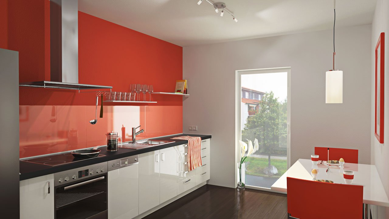rezension 3d visualisierung in cinema 4d architektur k che sulaco graphics mamo photography. Black Bedroom Furniture Sets. Home Design Ideas