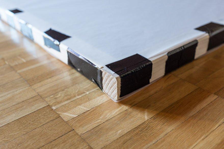 diffusor scrim nicht nur f r produktfotografie selbst gemacht. Black Bedroom Furniture Sets. Home Design Ideas