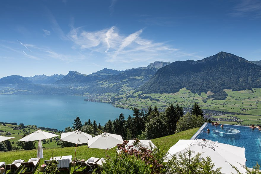 fotos im hotel villa honegg in ennetb rgen nidwalden schweiz. Black Bedroom Furniture Sets. Home Design Ideas