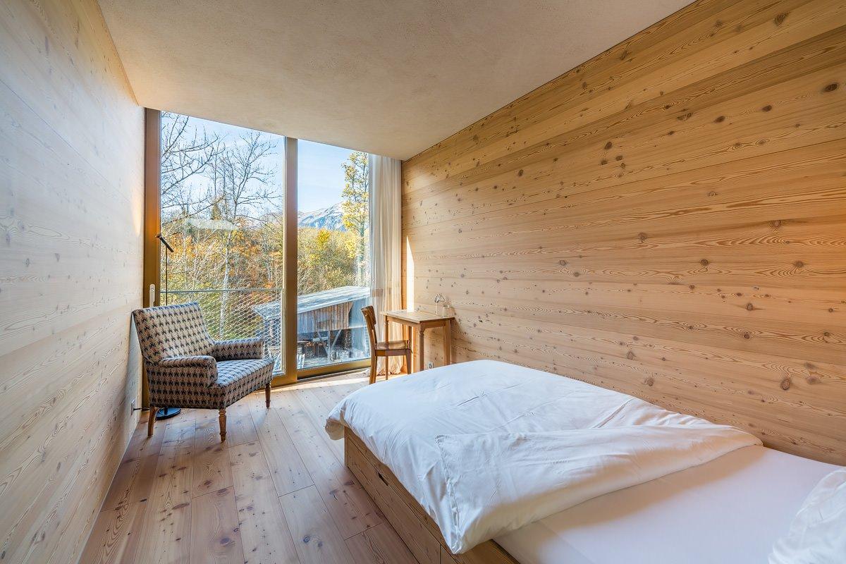Innenarchitekturfotografie und Baufotografie für konzeptBAU Interlaken